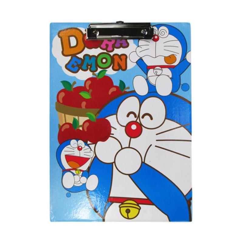 MeilynGiftShop Doraemon Biru Papan Alas Ujian