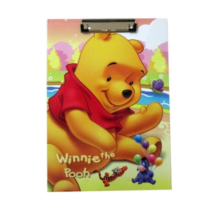 MeilynGiftShop Winnie The Pooh L Kuning Papan Alas Ujian