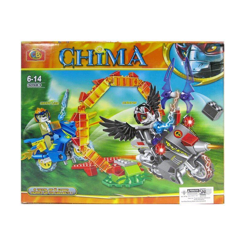 CBToys Chima 30983 Mainan Blok dan Puzzle