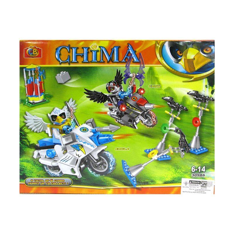 CBToys Chima 30986 Mainan Blok dan Puzzle