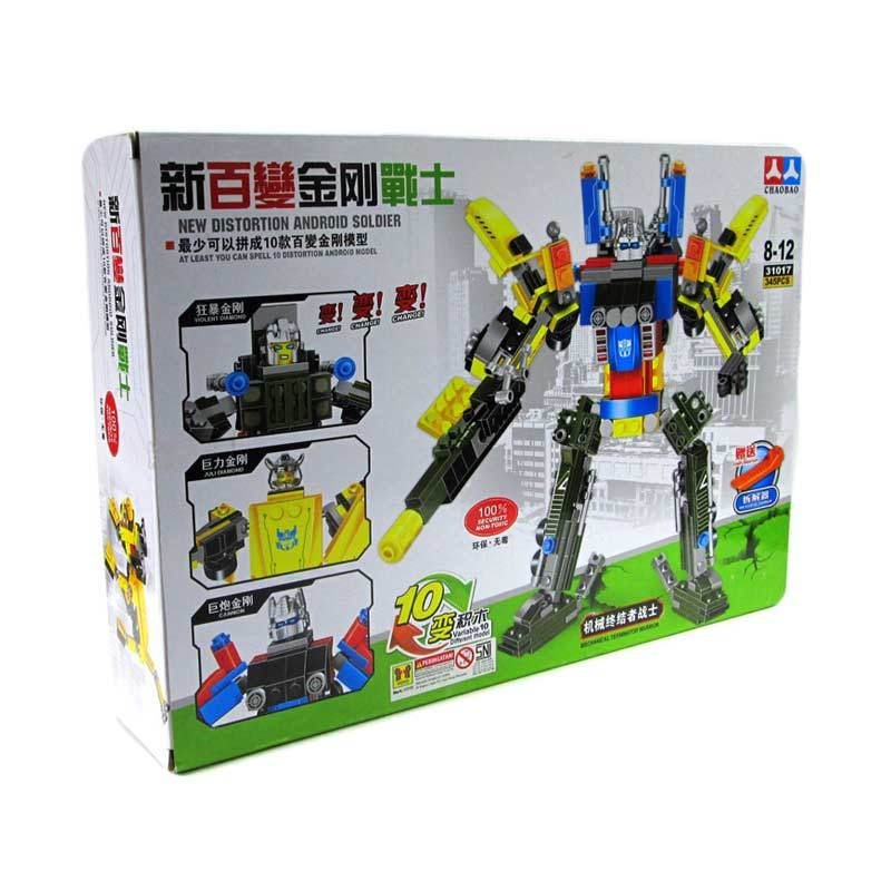 CHAO BAO New Distortion Android Soldier 31017 Mainan Blok dan Puzzle