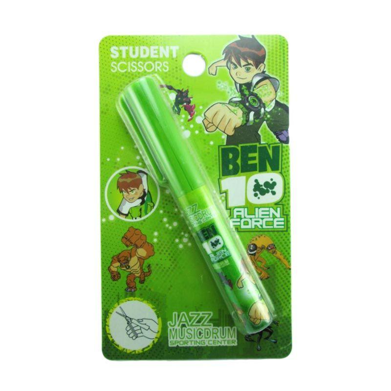 MeilynGiftShop Ben 10 Gunting Bulat Green