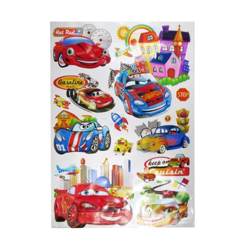 MeilynGiftShop Cars CLA Stiker Dinding