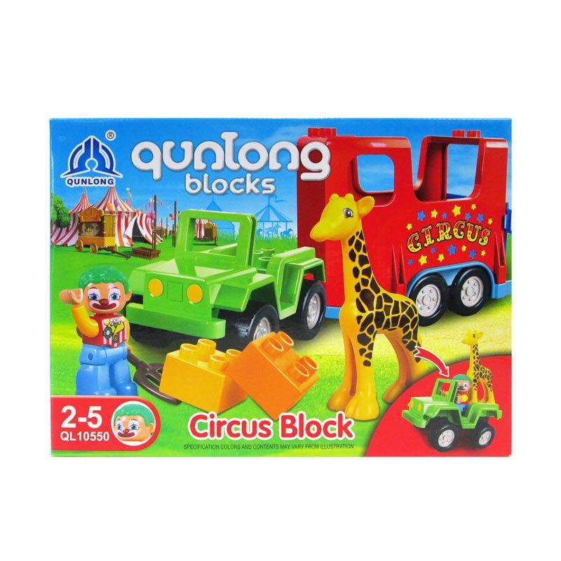 Qunlong Circus Mainan Blok & Puzzle