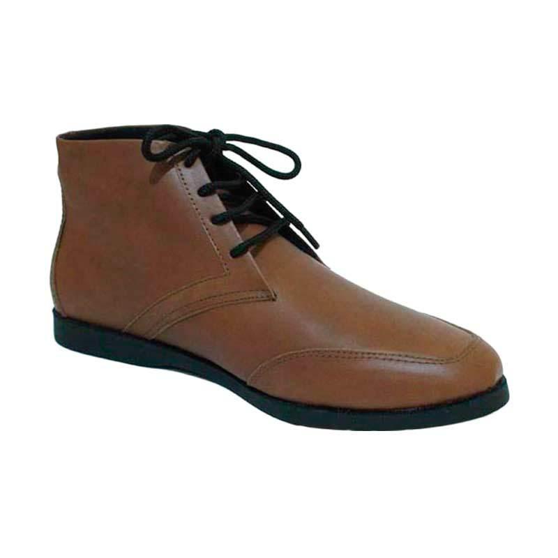 Mekafa Fraizion Brown Sepatu Pria