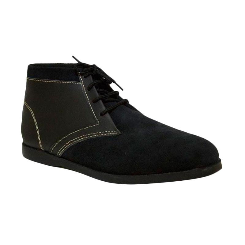 Mekafa Mekasu Black Boots Sepatu Pria