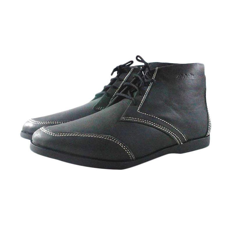 Mekafa Fraizion Black Sepatu Pria