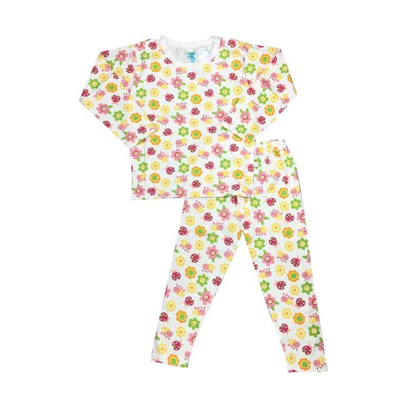 Melodybabynkids Flowery Pyjamas Baju Tidur Anak
