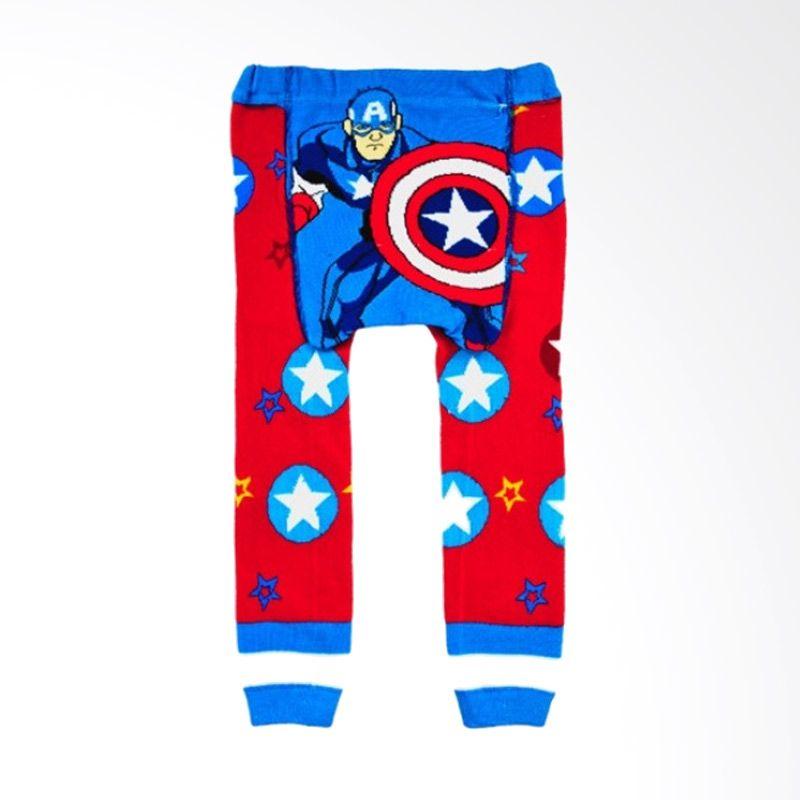 Melvieshop 3 Mix Cartoon Motif Captain Amerika Legging Busha Bayi