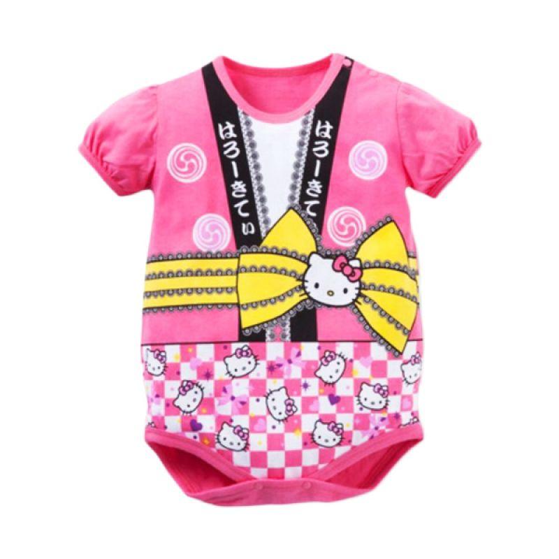 Melvieshop Kimono Pink Jumper Bayi