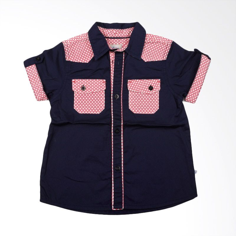 Members Only Andy Navy Red Baju Anak Laki-Laki