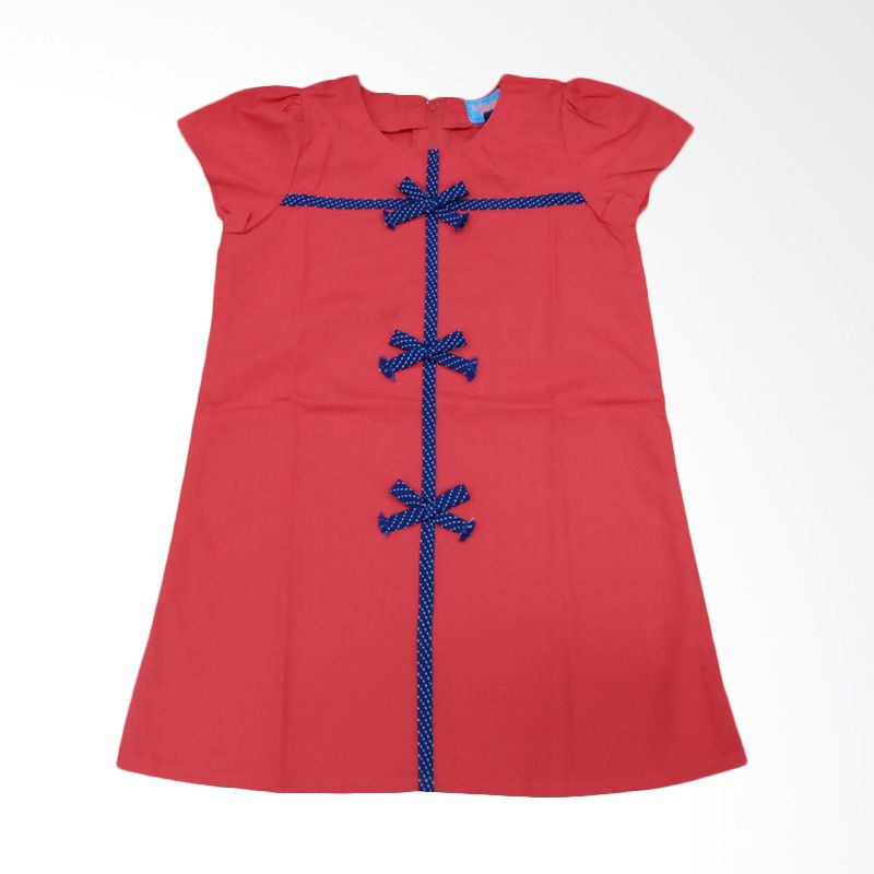 Members Only Bianca Red Dress Anak