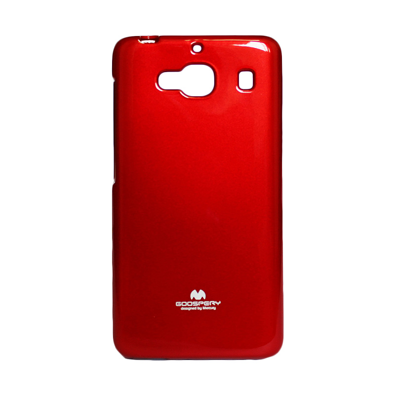 harga Mercury Jelly Case Red Casing for Xiaomi Hong Mi 2 / Redmi 2S Blibli.com