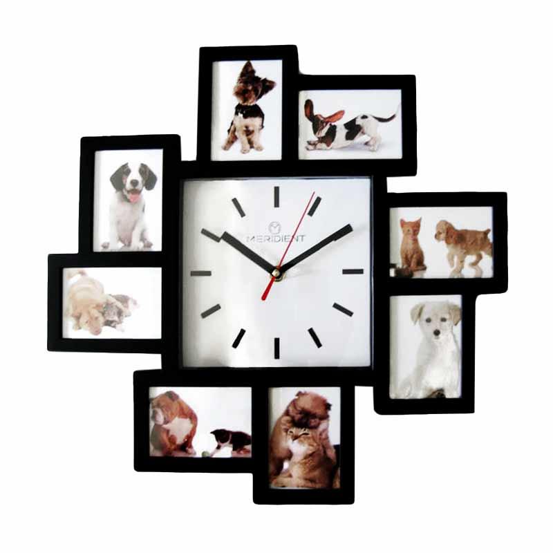 Meridient Frame Minimalis 0274 Jam Dinding - Hitam 482be40e26