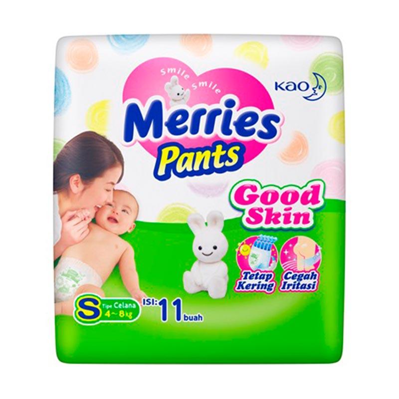 Merries Pants Good Skin S 11 Popok Bayi