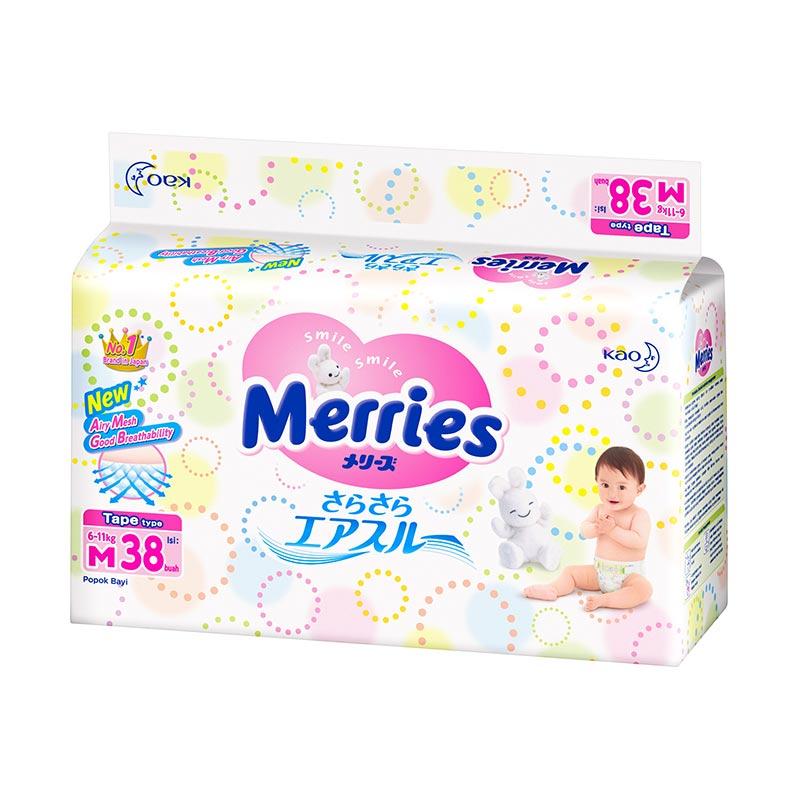 Merries Tape M Popok Bayi [38pcs]