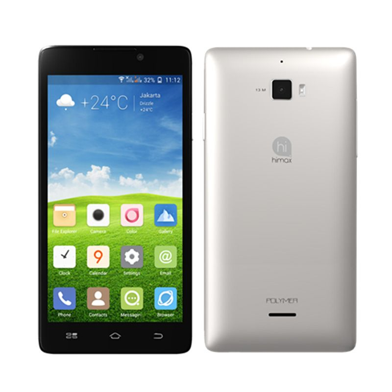 Himax Polymer Octacore Silver Smartphone