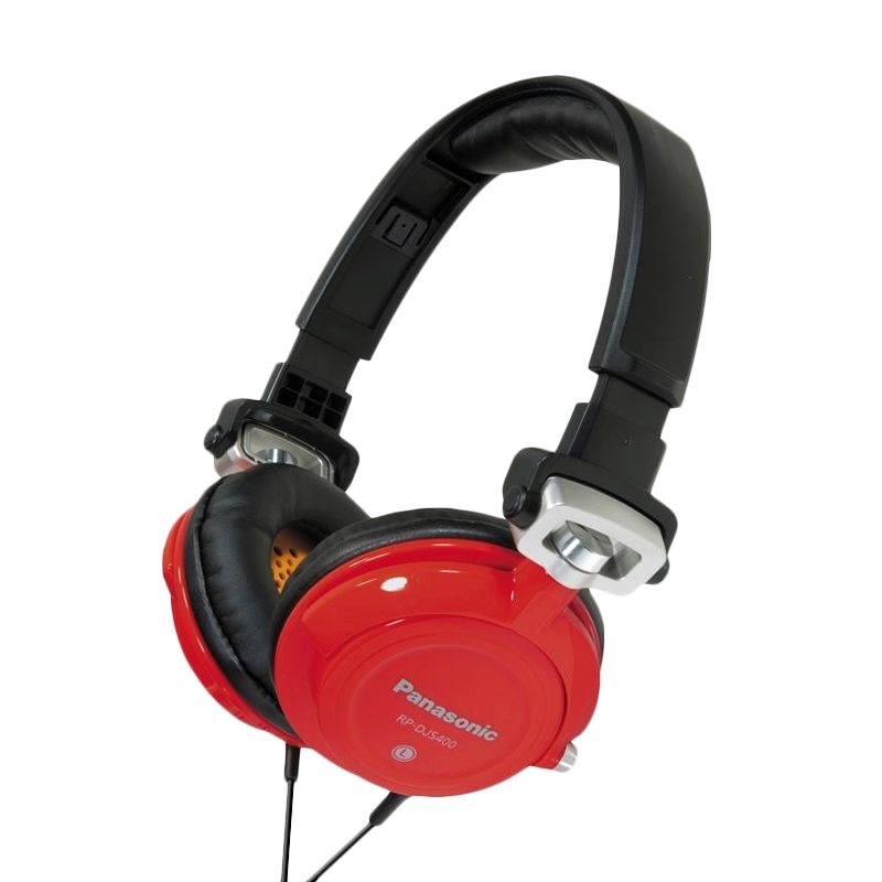 Panasonic RP-DJS400AEA Red Headphone
