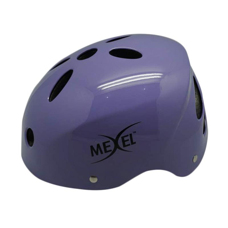 harga Mexel Batok F-71 Ungu Helm Sepeda BMX / MTB Blibli.com