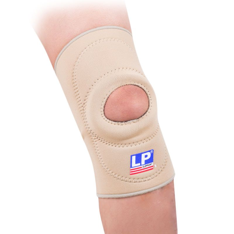 LP Support Knee Open Patella Tan LP-708