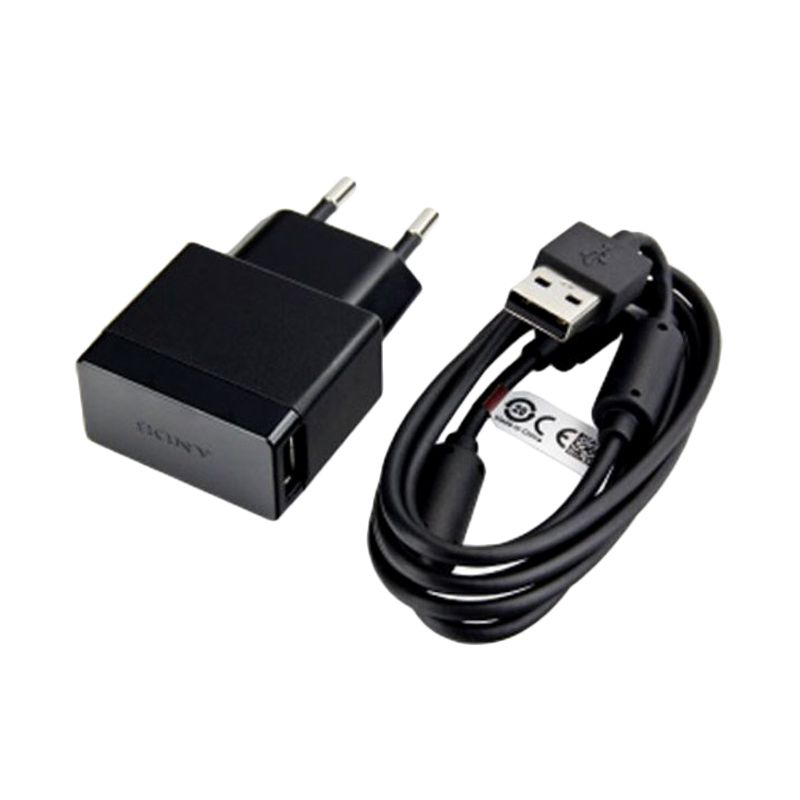 Sony EP881 Quick Hitam Charger