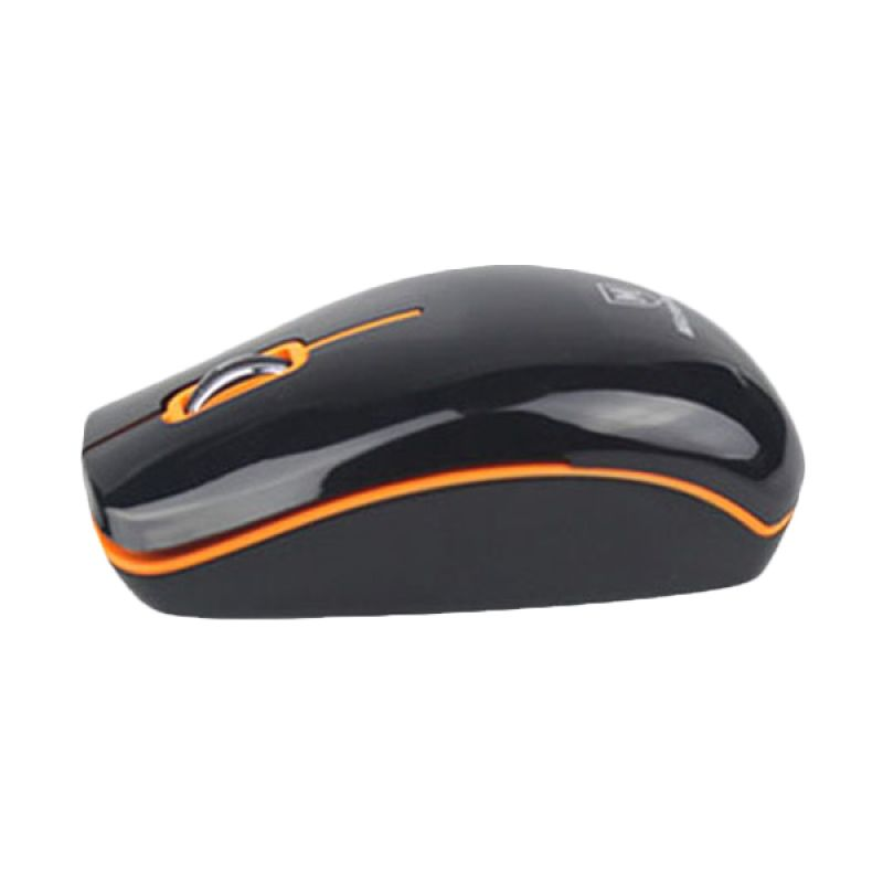 Micropack Laser Mouse MP-313G Black (+mouse pad)