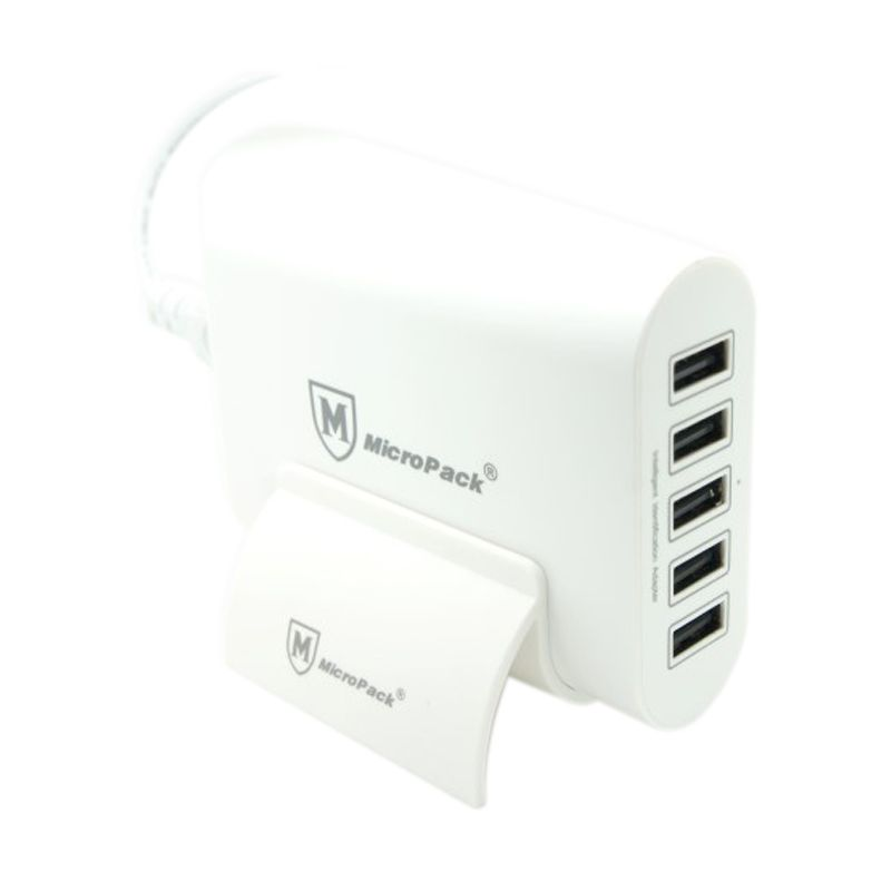 Micropack MUC 5SI White USB Charger