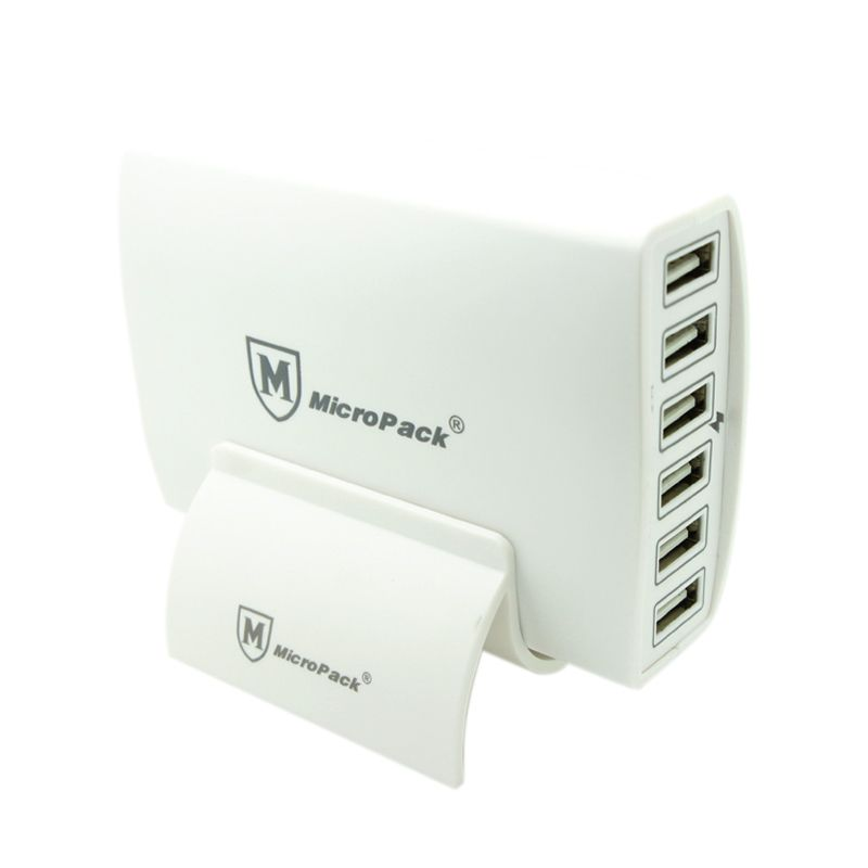 Micropack MUC-6SI White USB Charger