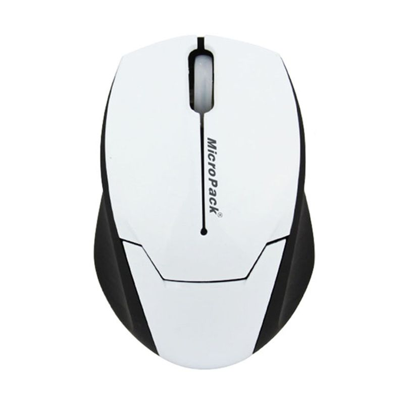 Micropack New Mouse MP-Y279R White (+mouse pad)