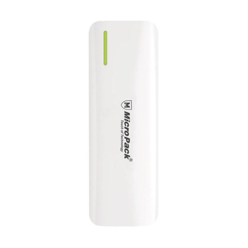 Micropack P10KP White Grey Powerbank [10000 mAh]