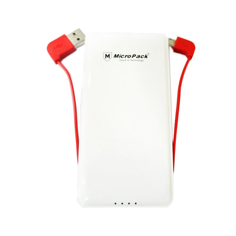 Micropack P6000P Powerbank - Putih
