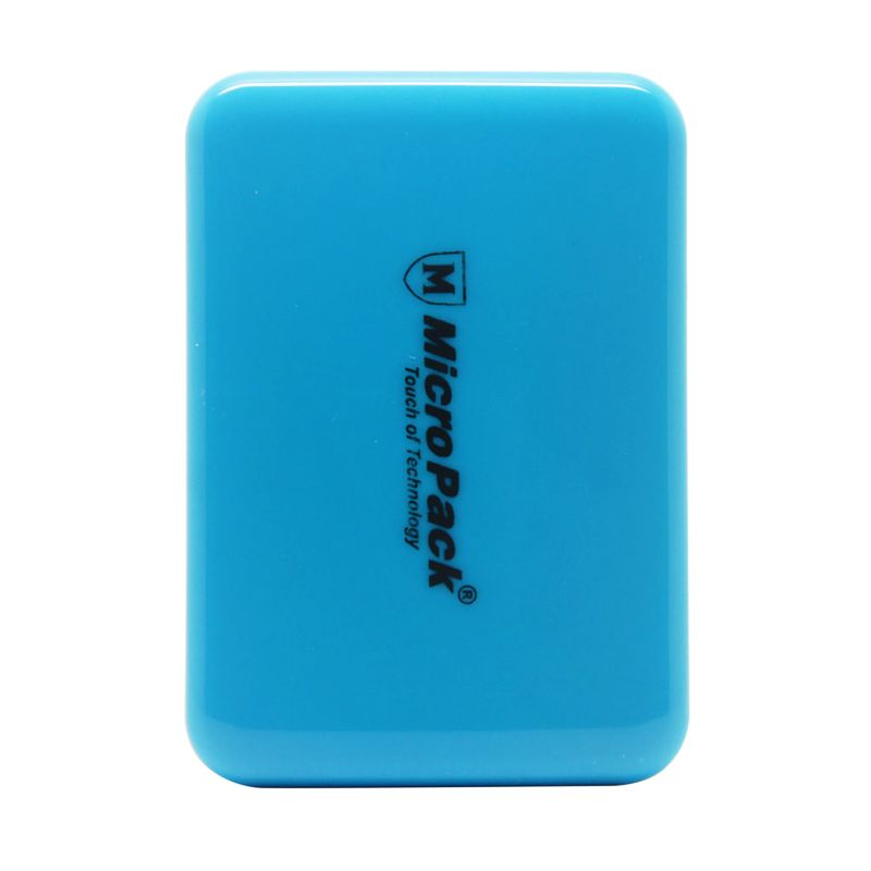 Micropack P610PS Small Blue Powerbank [6000 mAh]
