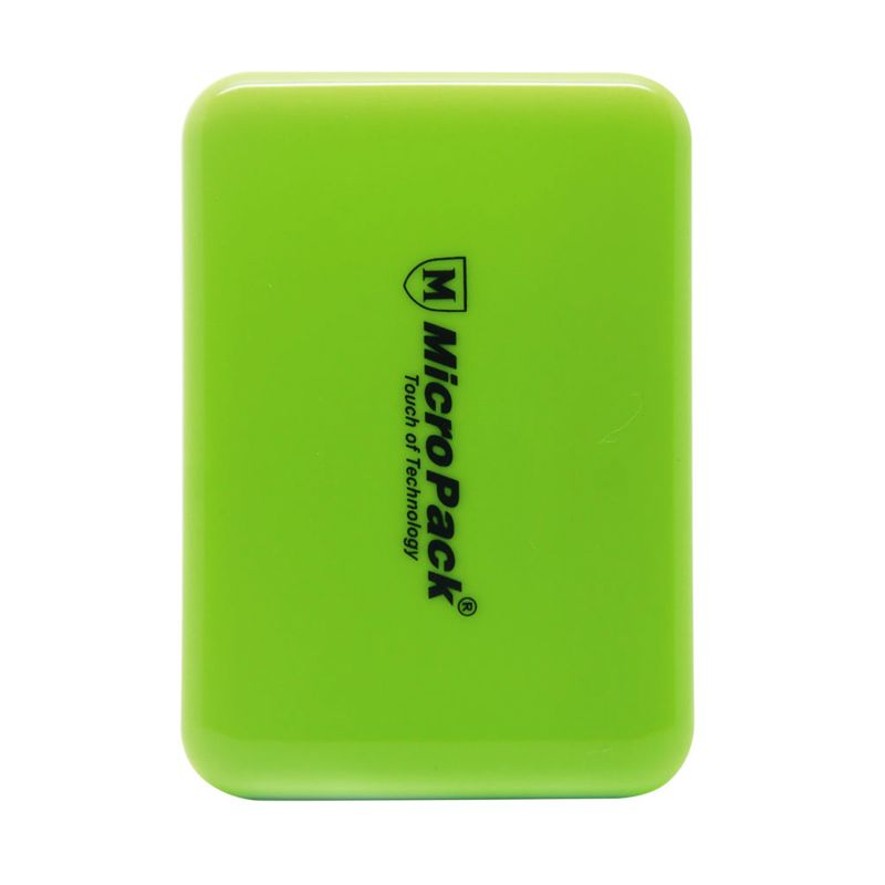 Micropack P610PS Small Green Powerbank [6000 mAh]