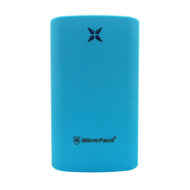 Micropack P8000P Polymer Slim Blue Powerbank [8000 mAh]