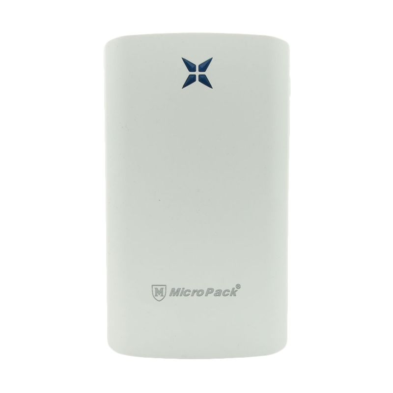 Micropack Polymer Slim P8000P White Powerbank [8000 mAh]