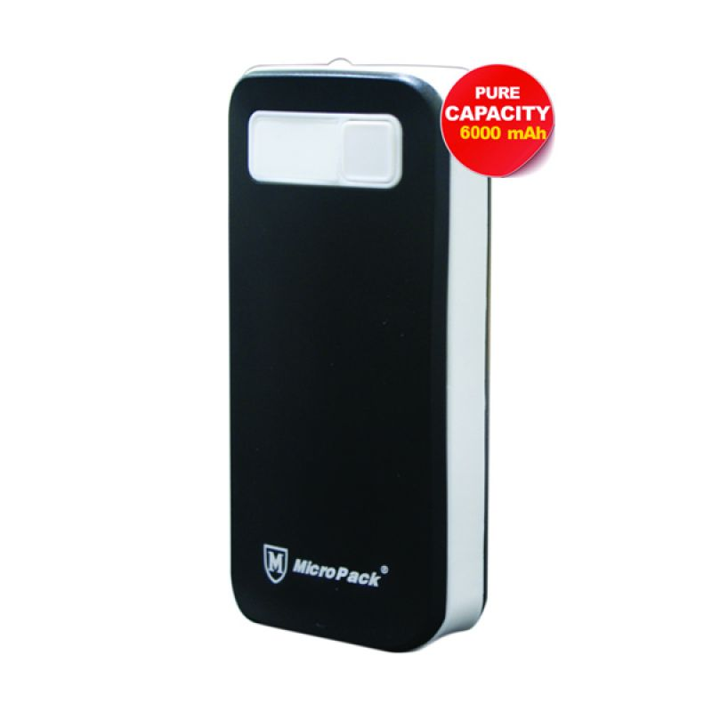 MicroPack Powerbank P6000 Black