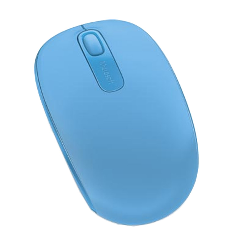 Microsoft 1850 Wireless Mouse - Cyan Blue