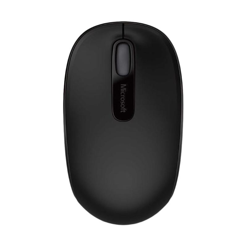 Microsoft 1850 Wireless Mouse - Hitam