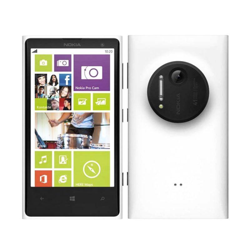 Microsoft Lumia 1020 White [Ram 2Gb/32GB/Garansi Resmi]