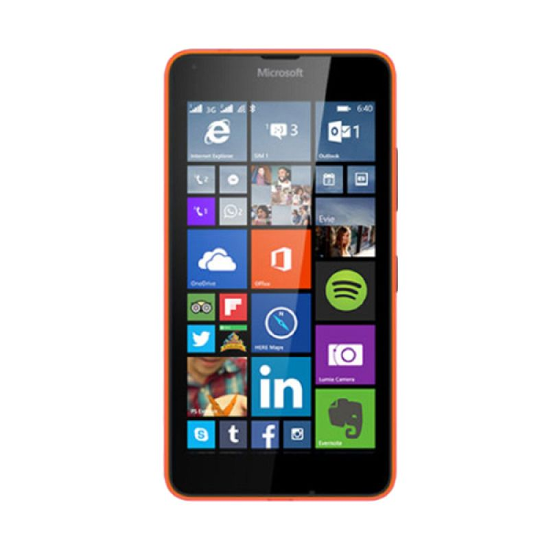 Microsoft Lumia 640 XL Orange Smartphone [Ram 1GB/8GB/Dual Sim]