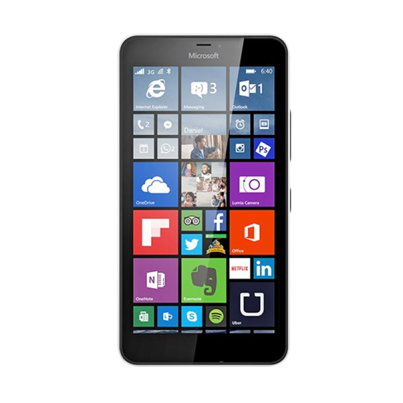 Microsoft Lumia 640 XL White Smartphone [RAM 1GB/8GB/Dual SIM]