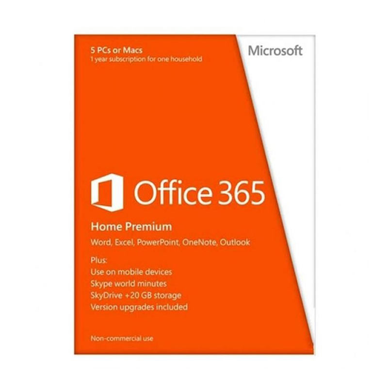 harga Microsoft Office 365 Home Premium Software [5 User] Blibli.com