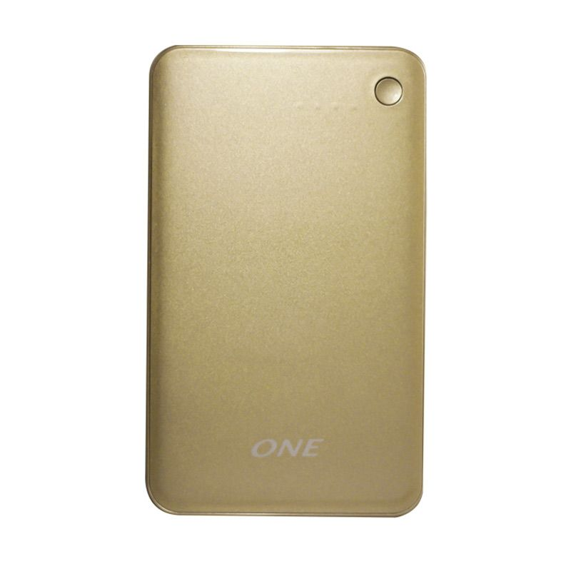 ONE 1200p Gold Powerbank Polimer [12000MAH]
