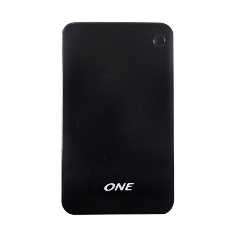 ONE 1200p Hitam Powerbank Polimer [12000MAH]