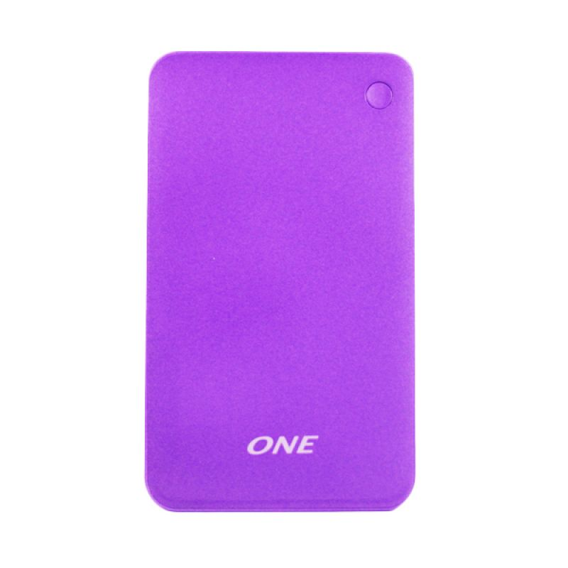 ONE 1200p Ungu Powerbank Polimer [12000MAH]