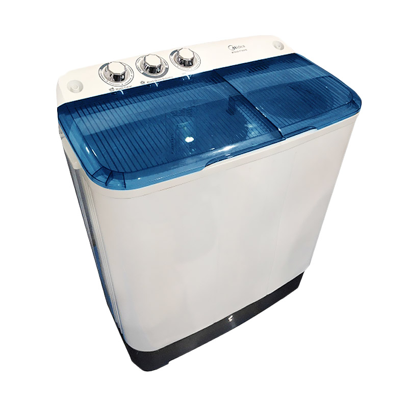 Midea MTA77 Mesin Cuci - Biru [2 Tabung] Extra diskon 7% setiap hari Extra diskon 5% setiap hari Citibank – lebih hemat 10%