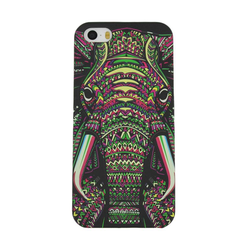 Migun Jungle Case Elephant Casing for iPhone 5 or 5s