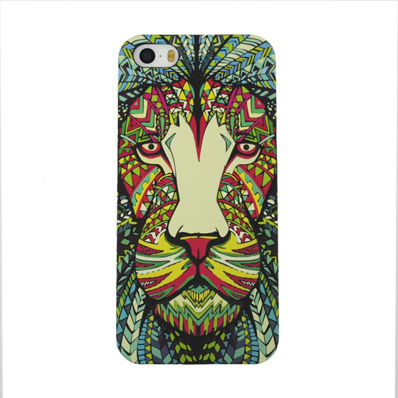 Migun Jungle Case Lion Casing for iPhone 5 or 5S