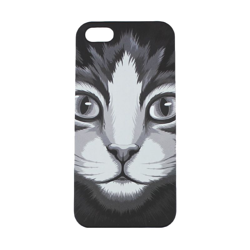 MIGUN Safari Night Case Cat Casing for iPhone 5 or 5S