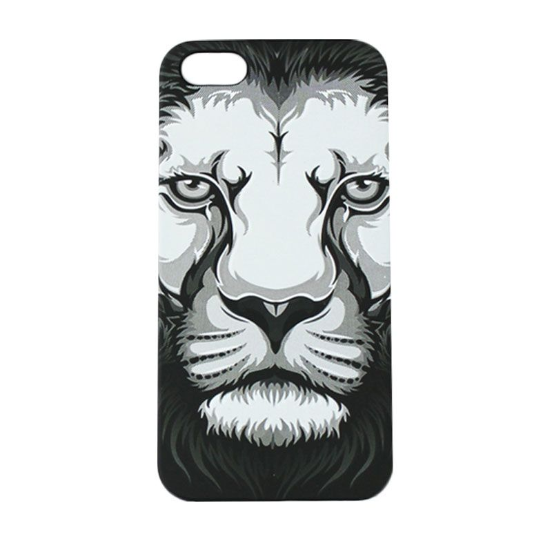 Migun Safari Night Lion Black Casing for iPhone 5 or iPhone 5S